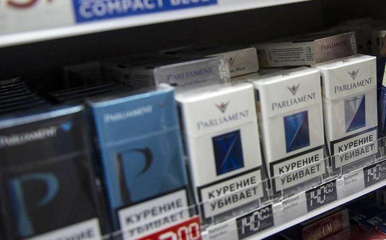 Акцизная марка на сигареты печатается на фабрике Гознак